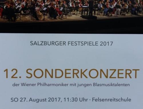 Sonderkonzert der Wiener Philharmoniker mit jungen Blasmusiktalenten